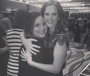 Rebecca Mader supporting Courtney