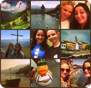 Switzerland collage