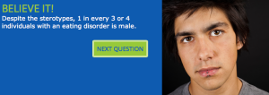 Neda Quiz. Male, eating disorders