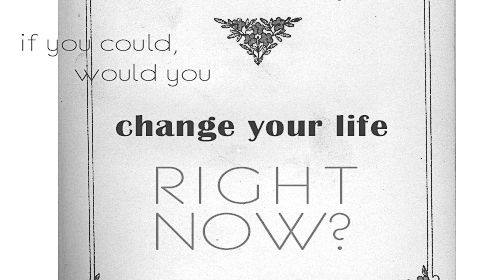 If You Had The Chance To Change Your Life Right Now, Would You Do It? She Did