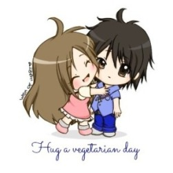 Hug a Vegetarian Day