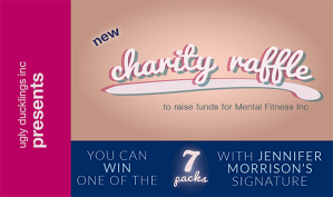 Ugly Ducklings Inc charity raffle 2015